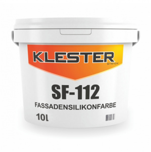SF-112 Facade silicone paint with high resistance to dirt