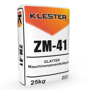 ZM-41 Smooth machine cement-lime plaster